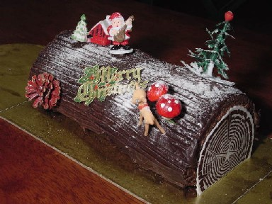 ANGLO-INDIAN FOOD - By Bridget White-Kumar: CHOCOLATE YULE ...
