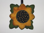 Sunflower Pin Cushion