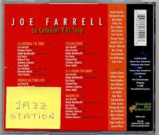 Joe Farrell La Catedral Y El Toro