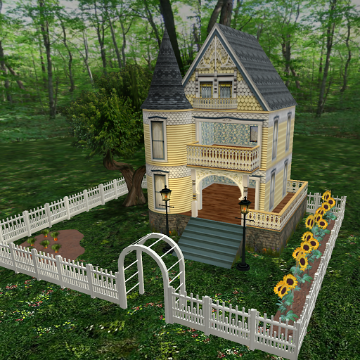 my first bunny house four winds