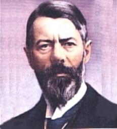 Sociologist, Max Weber,