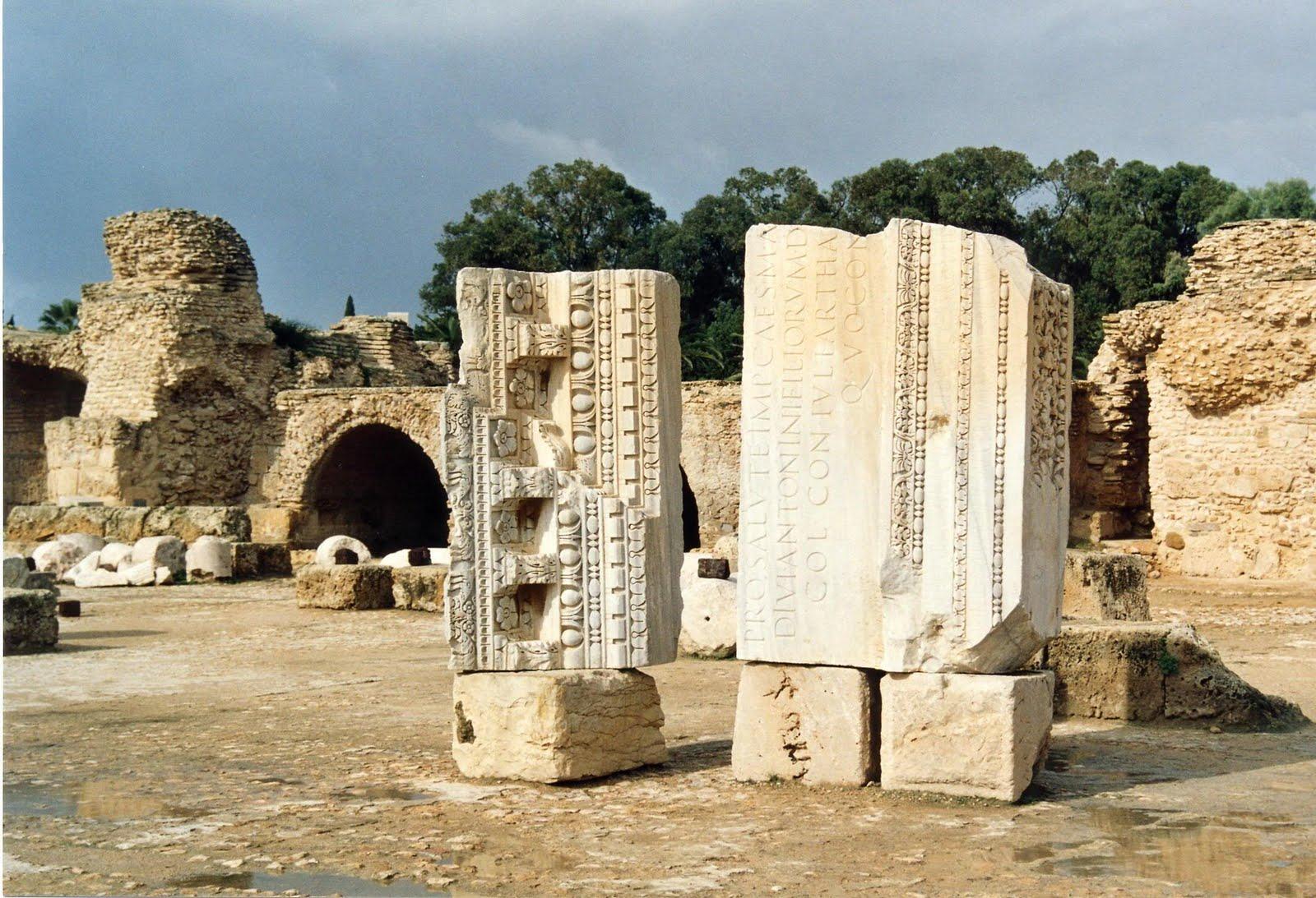 Sancara blog sull 39 africa il sito archeologico di cartagine for Immagini sito
