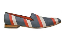 I Need This: Giacomorelli Striped Cotton Loafers