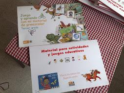 MATERIAL DE JUEGOS Y ACTIVIDADES PARA PREESCOLAR