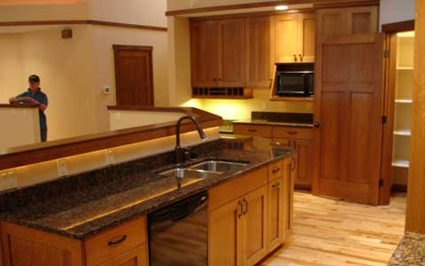 Need ideas for kitchen cabinets paint color.I have soft