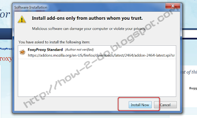 How To Hide/Change Your IP Adress With FireFox