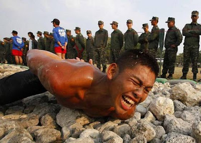 Soldier Training in Taiwan  - Want to be a Soldier?