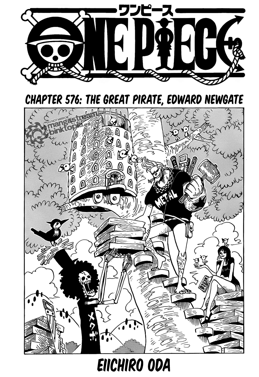 The Great Pirate, Edward Newgate| Read One Piece 577 Online | 00 - Press F5 to reload this image