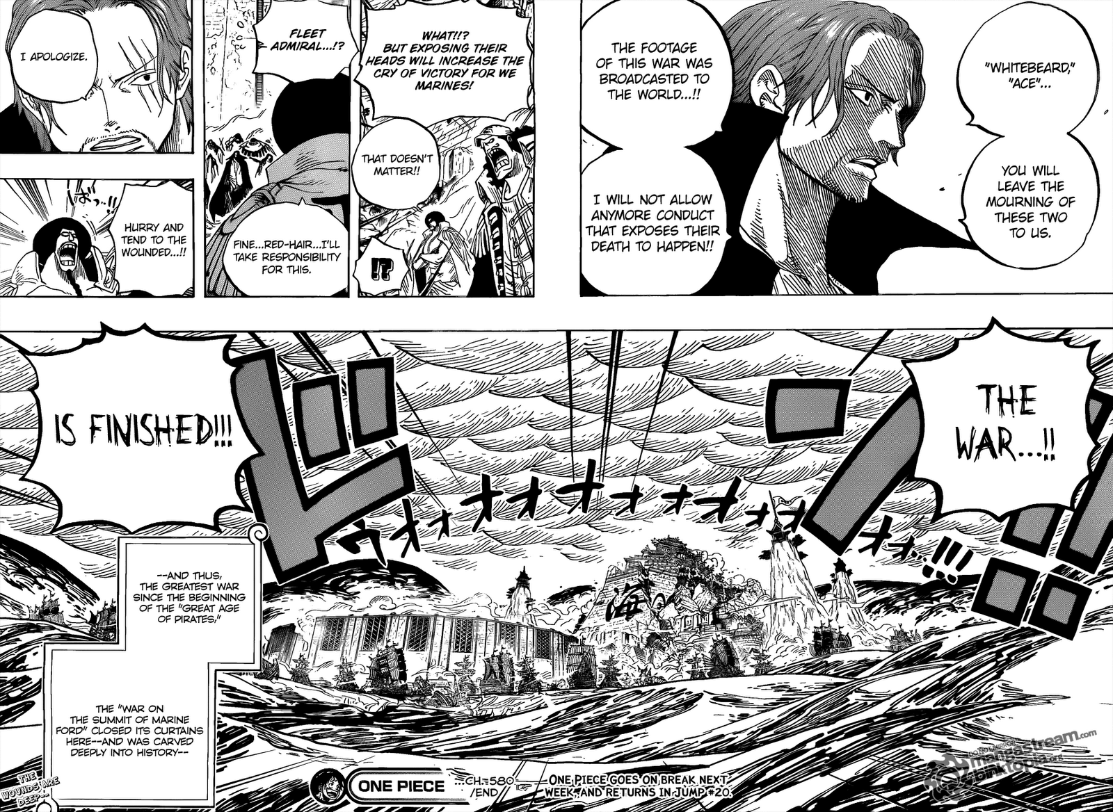 Read One Piece 580 Online | 11 - Press F5 to reload this image