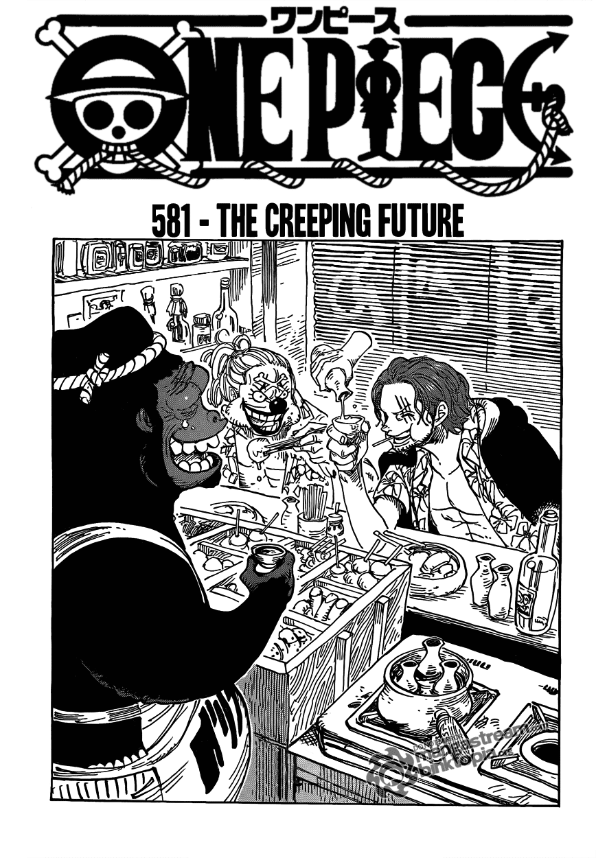 Creeping the Future| Read One Piece 581 Online | 00 - Press F5 to reload this image