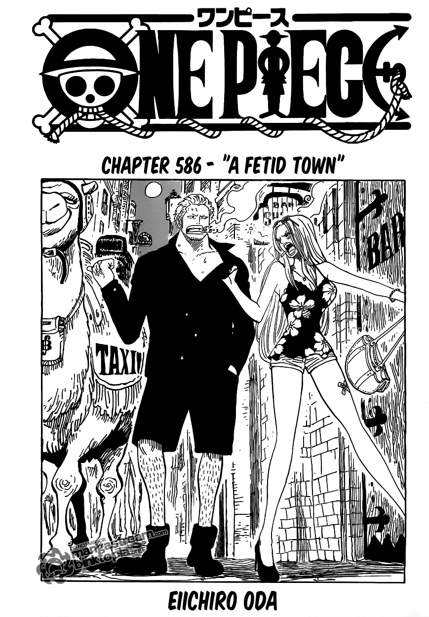 A fetid town| Read One Piece 586 Online | 00 - Press F5 to reload this image