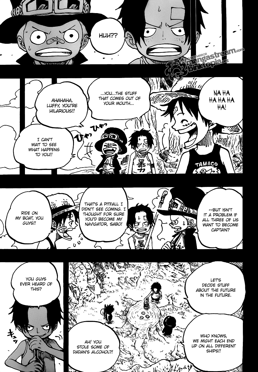 Read One Piece 585 Online | 12 - Press F5 to reload this image