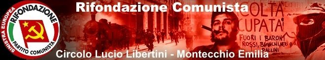 Rifondazione Comunista Montecchio Emilia