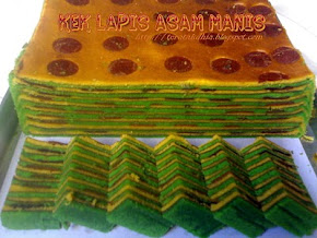 Kek Lapis Asam Manis ( Haw Flakes)