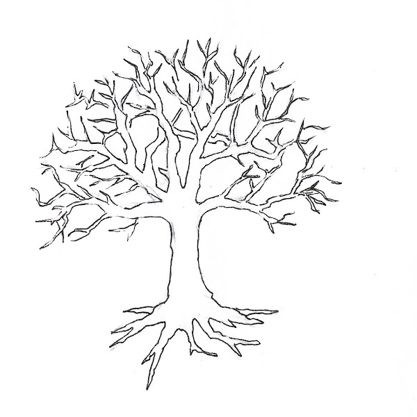 Oak Tree Coloring Pages Printable