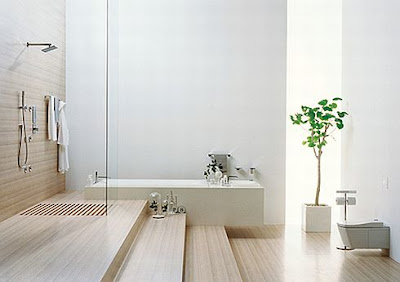 inspiration bubble: minimal bathrooms