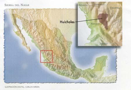 Pueblo Cora  Mapa%2520huicholes