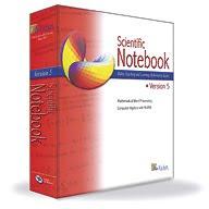 Download Scientific Notebook 5.5