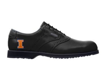 U of I Illini golf shoes.