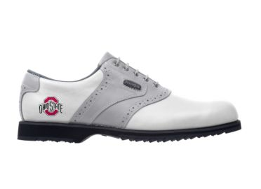 Ohio State Buckeyes golf shoes.