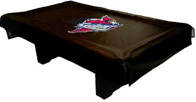 Iowa State University pool table cover.