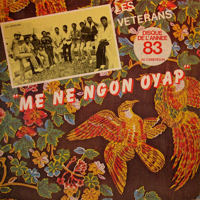 Cover Album of Les Veterans, Me Ne Ngon Oyap,Ebobolo 1983