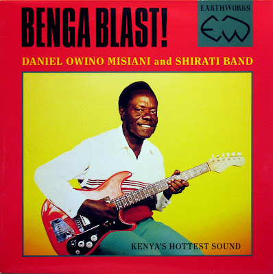 Cover Album of Daniel Owino Misiani and Shirati Band -Benga Blast!, Earthworks 1989