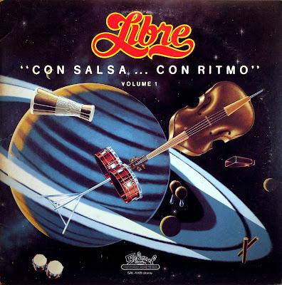"Cover Album of Libre - ""con Salsa...con Ritmo"",volume 1, Salsoul 1976"