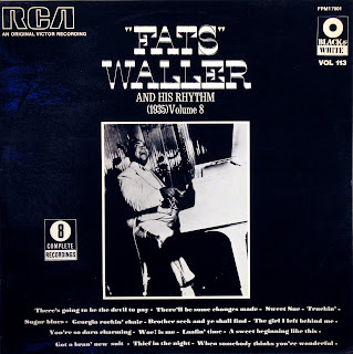 'Fats' Waller and his Rhythm - Complete Recordings vol.8,RCA Victor 1974
