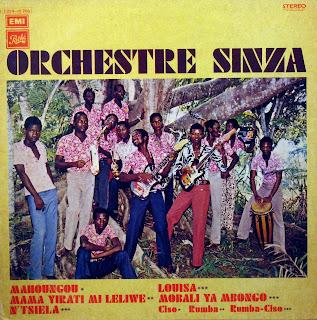 Orchestre Sinza,PathГ© Marconi / EMI2 C 054-15206