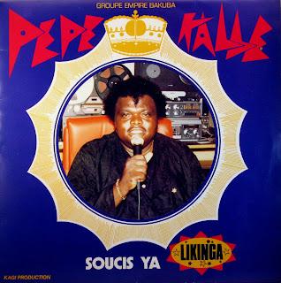 PГ©pГ© KallГ© & Empire Bakuba - Soucis ya Likinga,Bade Stars Music 1986