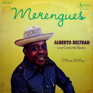 Merengues - Alberto BeltrГЎn y su ConjuntoTГpico, 'El Negrito del Batey',Ansonia SALP 1531, 1975
