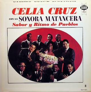 Celia Cruz con la Sonora Matancera -Sabor y Ritmo de Pueblos,Seeco 1965