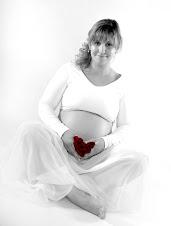 ultimos dias de gravidez da Eliana