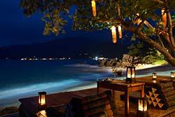 restaurant03 Spa de lujo en Tailandia, Santhiya Resort & Spa.
