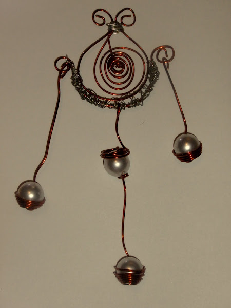 pandant cupru hand-made 40 ron