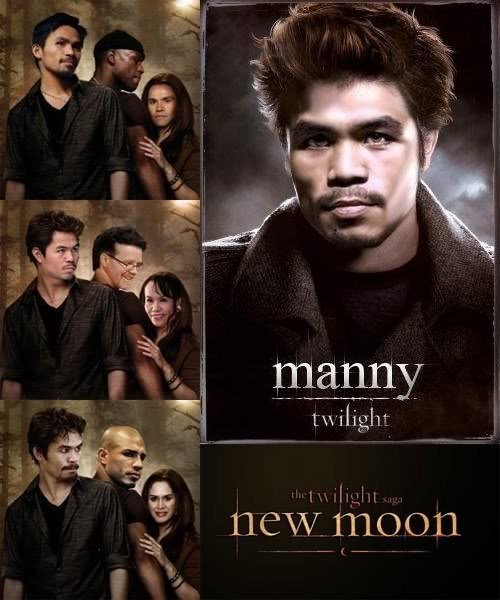 Manny Pacquiao As Edward From Twilight