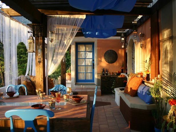 Backyard Room Ideas : dont know about you, but I absolutely adore Moroccan architecture