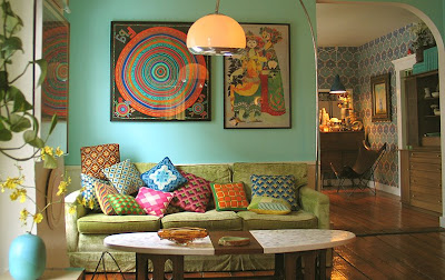 Eclectic Home Decor interior design tips: brighten your eclectic home decor