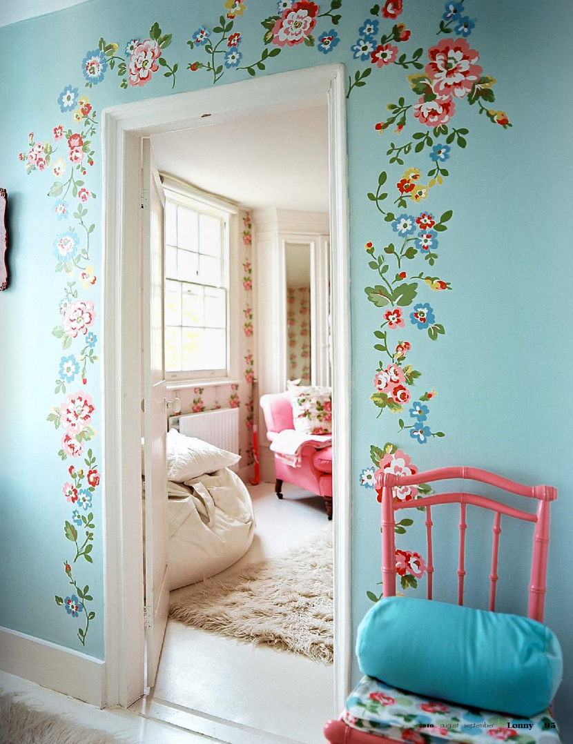 Alkemie cath kidston 39 s london home for Cath kidston bedroom ideas