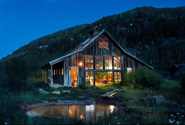 Alkemie Rustic Log Cabin Inspiraiton From Dunton Hot