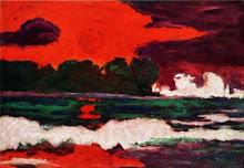 El sol de los tropicos de Emil Nolde