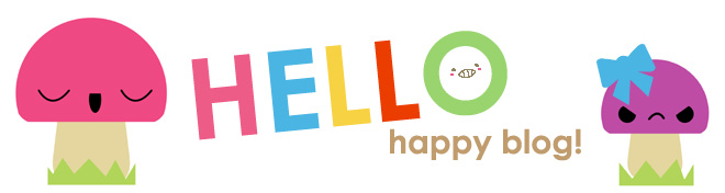 HELLO happy blog!
