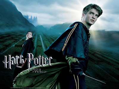 Cedric diggory and harry potter