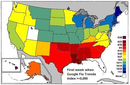 Floatingsheep Swine Flu A Usergenerated Pandemic - Flu In The Us Map