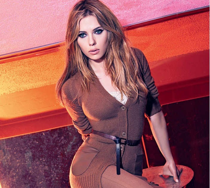Scarlett Johansson – Photoshoot For Mango