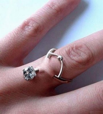 Ring piercing  Cool or Dumb