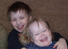 Leo and cousin Sophie, Sat, Jan 2, 2010