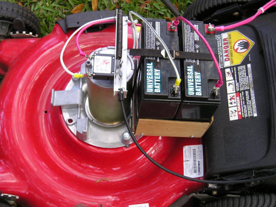 Build It Solar Blog Lee Adds A Self Propulsion System To