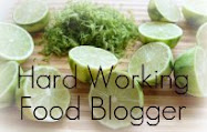 Hard-Working Food Blogger Award